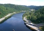 Výlet Vltavanů na Slapskou přehradu 059
